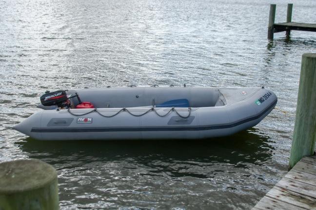 13' Avon Rigid Inflatable Boat